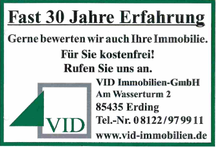 VID-Immobilien in Erding