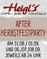Heigls Cafebar After Herbstfest