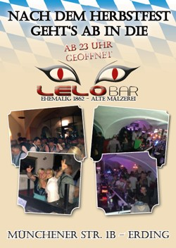 Herbstfest Lelo-Bar